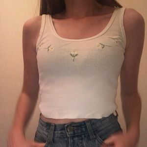 Brandy Melville Limit edition Daisy tank top!